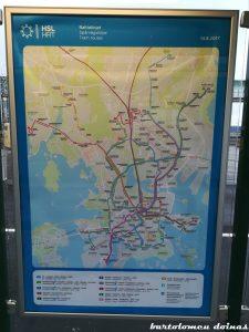 hartă traseu tramvai 6T și 7