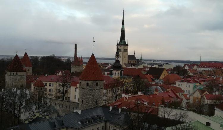 panoramă centru vechi tallinn